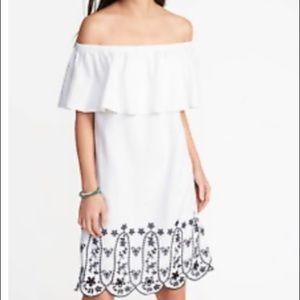 Old Navy Off the Shoulder Dress - Size Small